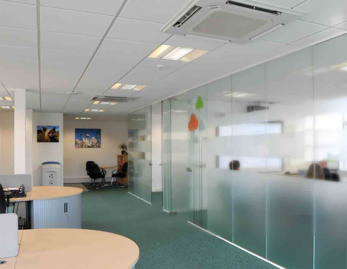 A vibrant business park of flexible and modern office units - with plenty of natural light